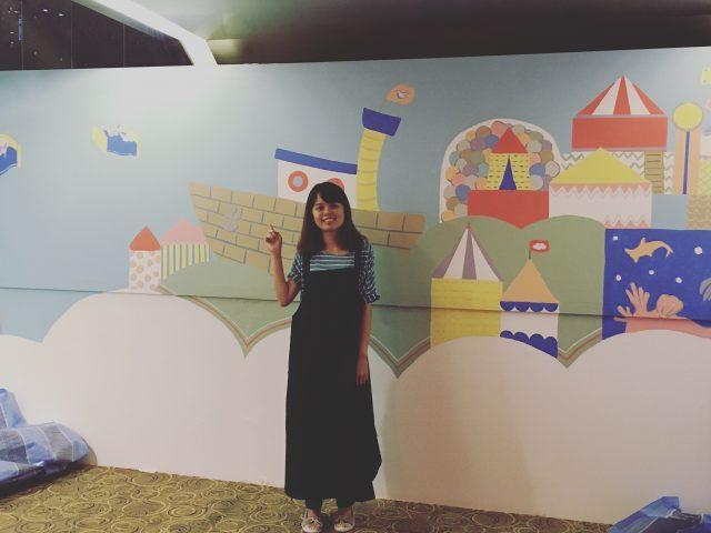 Mural Painting @ Playcots, Katong 112